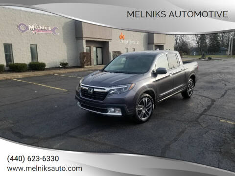 2018 Honda Ridgeline for sale at Melniks Automotive in Berea OH