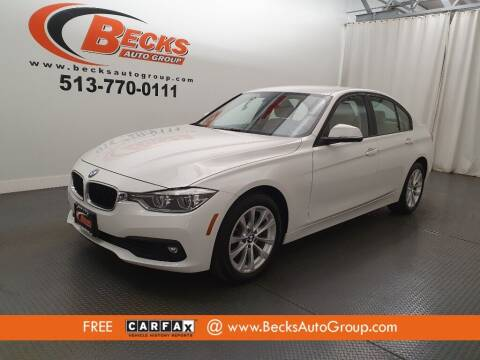 2018 BMW 3 Series for sale at Becks Auto Group in Mason OH