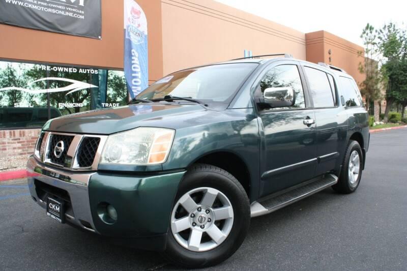 2004 Nissan Armada for sale at CK Motors in Murrieta CA