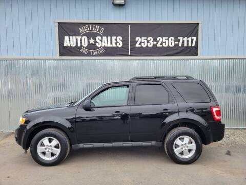 2010 Ford Escape for sale at Austin's Auto Sales in Edgewood WA