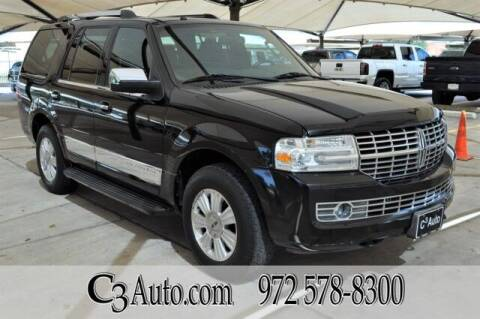 2007 Lincoln Navigator for sale at C3Auto.com in Plano TX