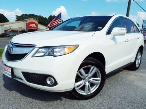 2015 Acura RDX for sale at USA 1 Autos in Smithfield VA