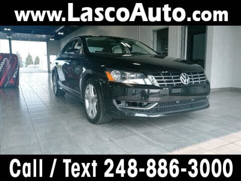 2014 Volkswagen Passat for sale at Lasco of Waterford in Waterford MI