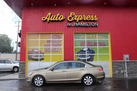 2010 Honda Accord for sale at AUTO EXPRESS OF HAMILTON LLC in Hamilton OH