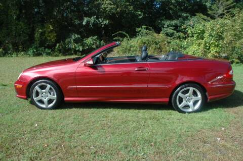2005 Mercedes-Benz CLK for sale at Bruce H Richardson Auto Sales in Windham NH