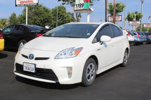 2013 Toyota Prius for sale at San Jose Auto Outlet in San Jose CA