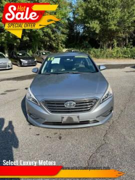 2015 Hyundai Sonata for sale at Select Luxury Motors in Cumming GA