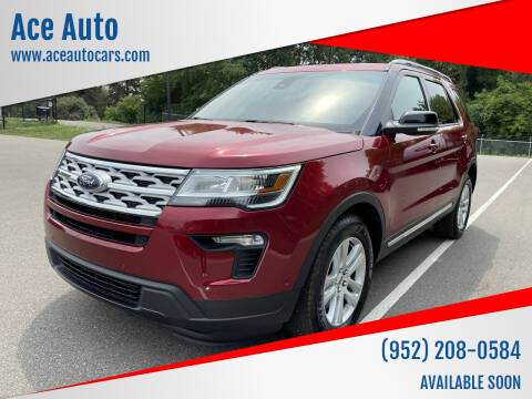 2018 Ford Explorer for sale at Ace Auto in Jordan MN