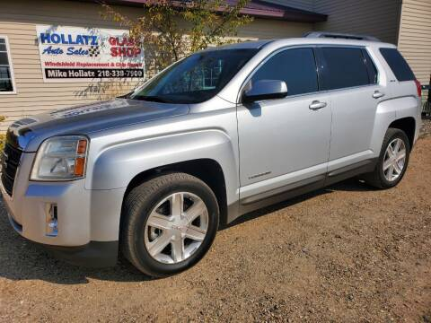 2011 GMC Terrain for sale at Hollatz Auto Sales in Parkers Prairie MN