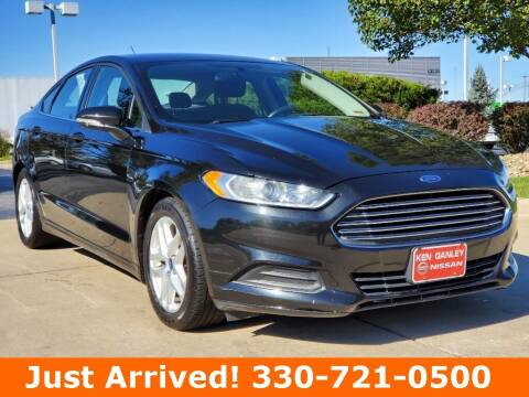 2015 Ford Fusion for sale at Ken Ganley Nissan in Medina OH