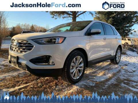 2020 Ford Edge for sale at Jackson Hole Ford of Alpine in Alpine WY