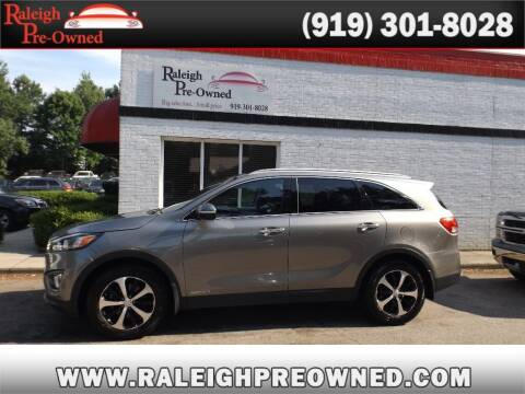 2016 Kia Sorento for sale at Raleigh Pre-Owned in Raleigh NC