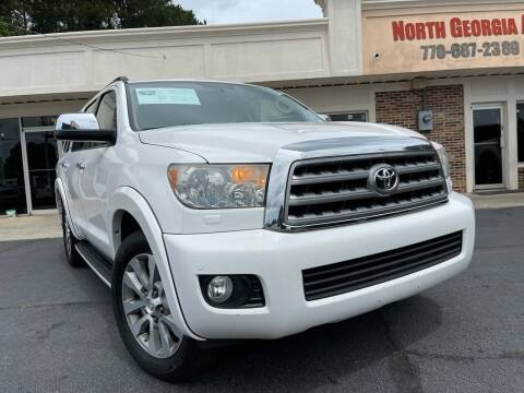 2015 Toyota Sequoia for sale at North Georgia Auto Brokers in Snellville GA