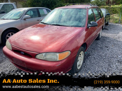 1998 Ford Escort for sale at AA Auto Sales Inc. in Gary IN