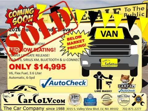 2016 Dodge Grand Caravan for sale at The Car Company in Las Vegas NV