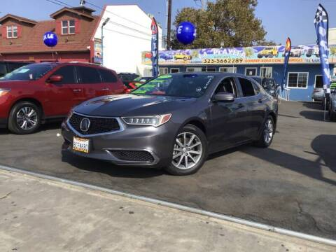 2018 Acura TLX for sale at LA PLAYITA AUTO SALES INC - Tulare Lot in Tulare CA