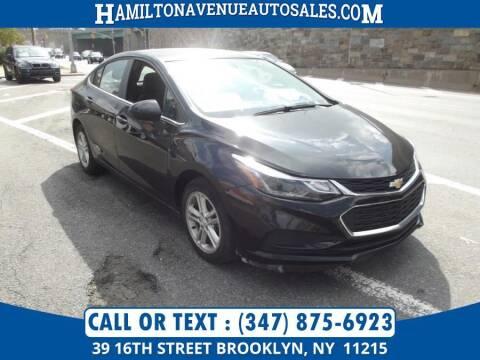 2016 Chevrolet Cruze for sale at Hamilton Avenue Auto Sales in Brooklyn NY