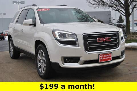 2015 GMC Acadia for sale at Ken Ganley Nissan in Medina OH