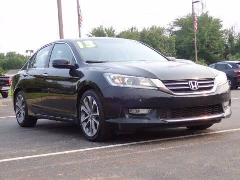 2013 Honda Accord for sale at Szott Ford in Holly MI