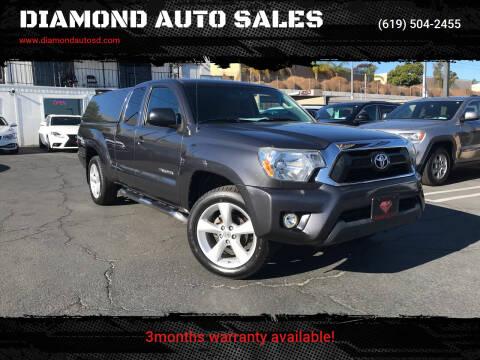 2013 Toyota Tacoma for sale at DIAMOND AUTO SALES in El Cajon CA