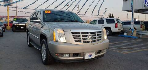 2007 Cadillac Escalade for sale at I-80 Auto Sales in Hazel Crest IL