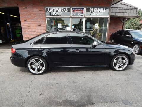 2010 Audi S4 for sale at AUTOWORKS OF OMAHA INC in Omaha NE