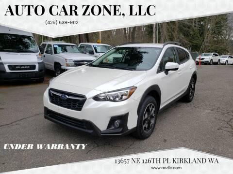 2019 Subaru Crosstrek for sale at Auto Car Zone, LLC in Kirkland WA