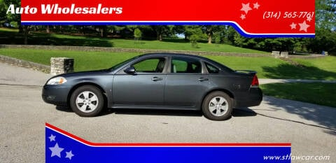 2010 Chevrolet Impala for sale at Auto Wholesalers in Saint Louis MO