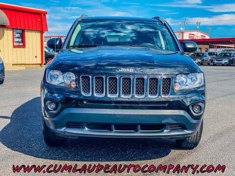 2016 Jeep Compass for sale at MAGNA CUM LAUDE AUTO COMPANY in Lubbock TX