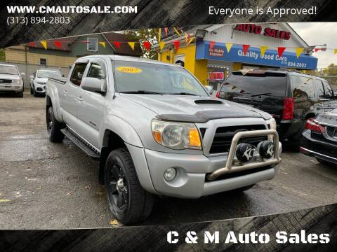 2007 Toyota Tacoma for sale at C & M Auto Sales in Detroit MI