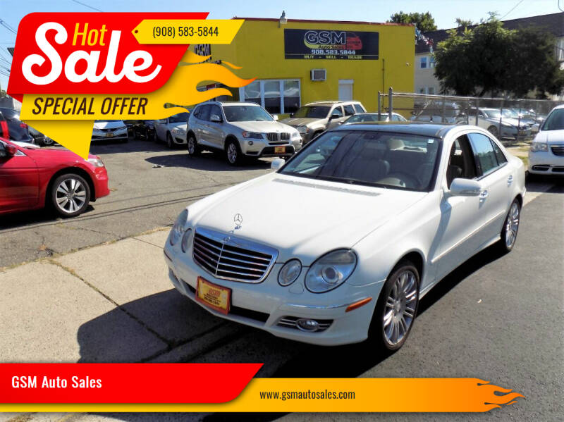 2008 Mercedes-Benz E-Class for sale at GSM Auto Sales in Linden NJ
