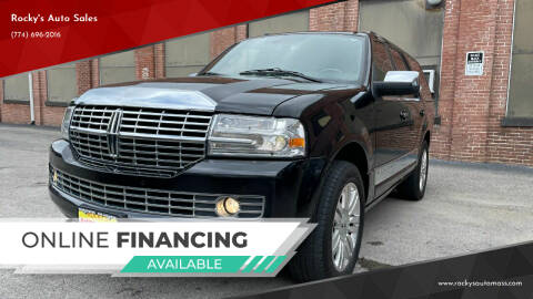 2014 Lincoln Navigator for sale at Rocky's Auto Sales in Worcester MA