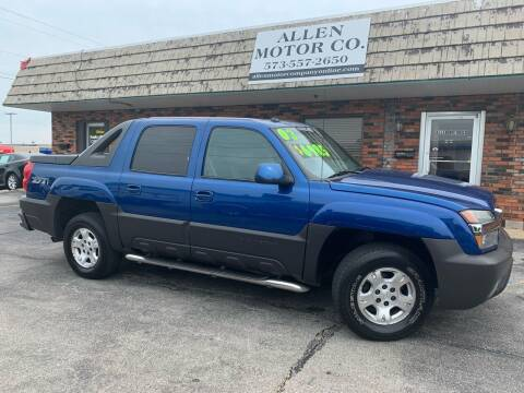 2003 Chevrolet Avalanche for sale at Allen Motor Company in Eldon MO