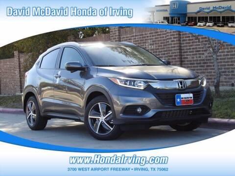 2021 Honda HR-V for sale at DAVID McDAVID HONDA OF IRVING in Irving TX