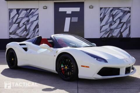 2017 Ferrari 488 Spider for sale at Tactical Fleet in Addison TX