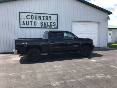 2013 Chevrolet Silverado 1500 for sale at COUNTRY AUTO SALES LLC in Greenville OH