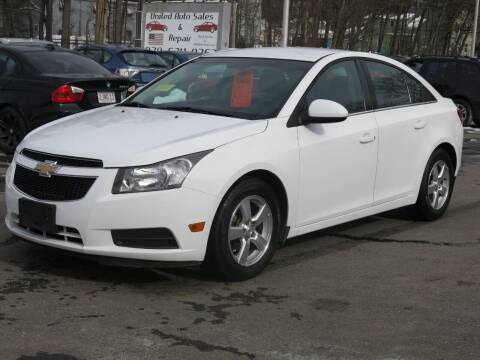 2011 Chevrolet Cruze for sale at United Auto Service in Leominster MA