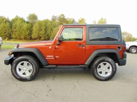 2014 Jeep Wrangler for sale at E & M AUTO SALES in Locust Grove VA