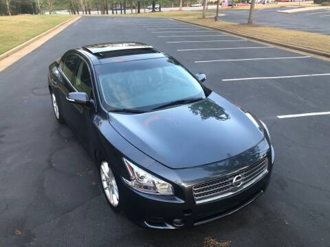 2010 Nissan Maxima for sale at Top Notch Luxury Motors in Decatur GA