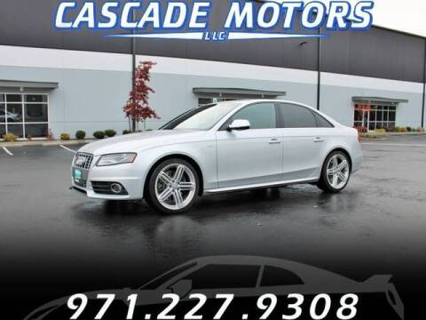 2012 Audi S4 for sale at Cascade Motors in Portland OR