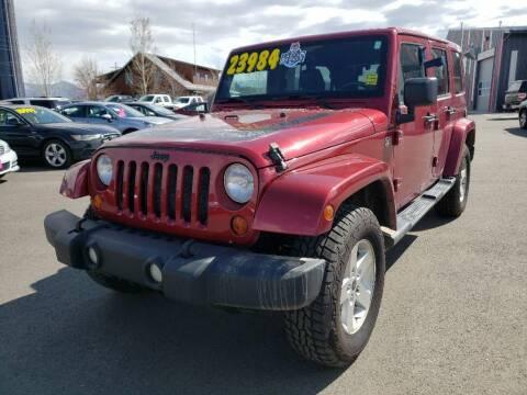 2012 Jeep Wrangler Unlimited for sale at Snyder Motors Inc in Bozeman MT