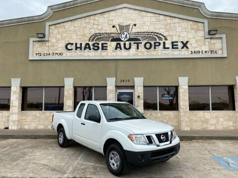 2019 Nissan Frontier for sale at CHASE AUTOPLEX in Lancaster TX