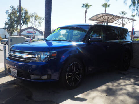 2014 Ford Flex for sale at Corona Auto Wholesale in Corona CA