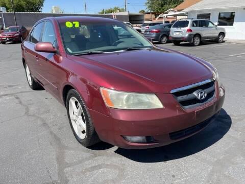 2007 Hyundai Sonata for sale at Robert Judd Auto Sales in Washington UT