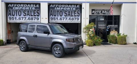 2010 Honda Element for sale at Affordable Imports Auto Sales in Murrieta CA