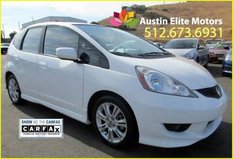 2011 Honda Fit for sale at Austin Elite Motors in Austin TX