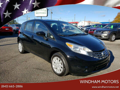 2016 Nissan Versa Note for sale at Windham Motors in Florence SC