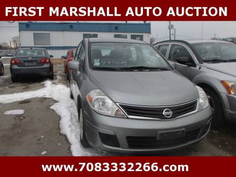 2011 Nissan Versa for sale at First Marshall Auto Auction in Harvey IL