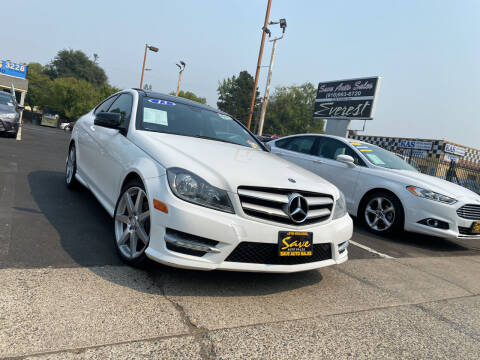 2013 Mercedes-Benz C-Class for sale at Save Auto Sales in Sacramento CA
