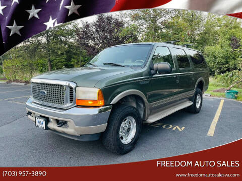 2001 Ford Excursion for sale at Freedom Auto Sales in Chantilly VA